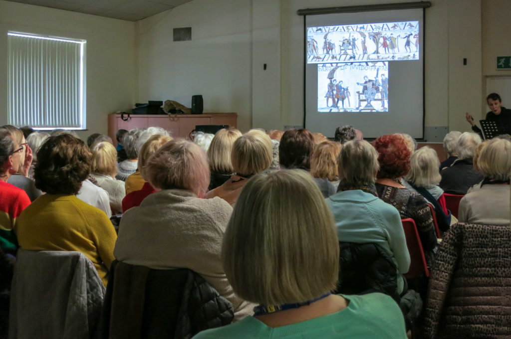 View of a typical Monthly Meeting