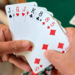 A hand of cards
