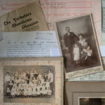 Collection of photos, letters and newspaper clippings