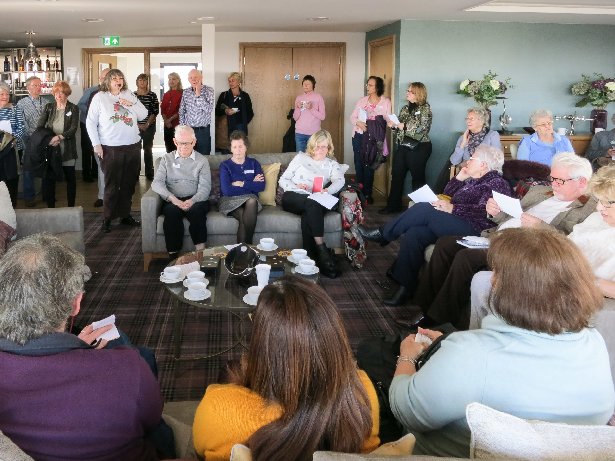 Views of the February 2019 New Members Meeting