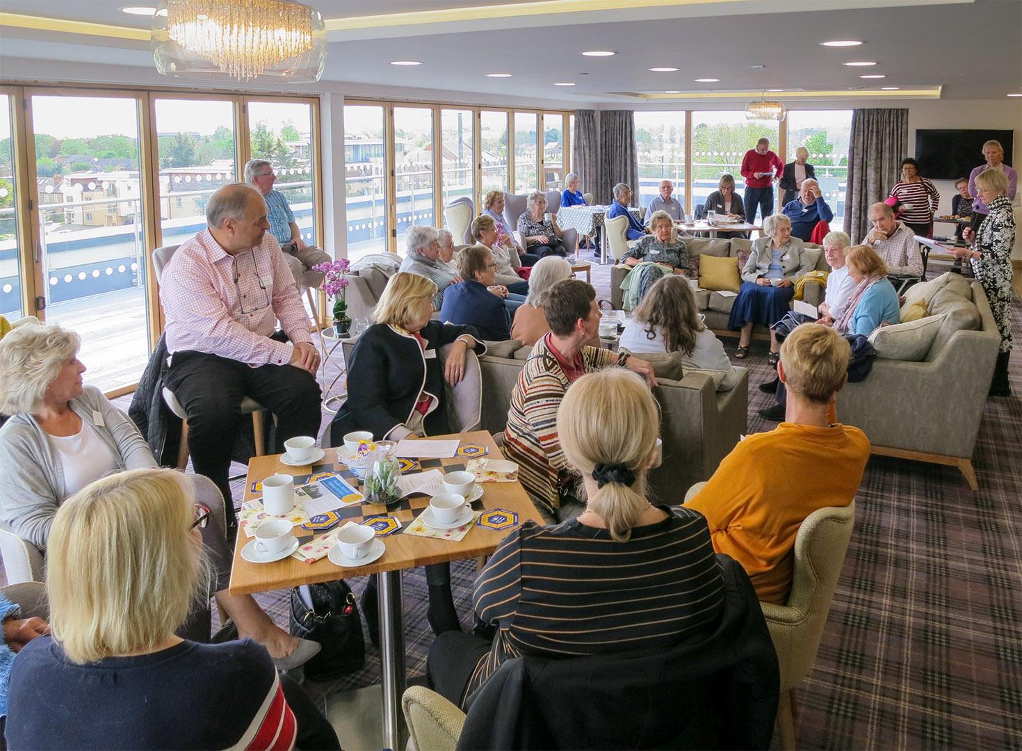 Views of the April 2019 New Members Meeting