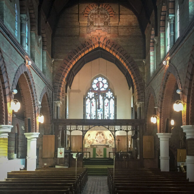 Interior of All Saints Windsor